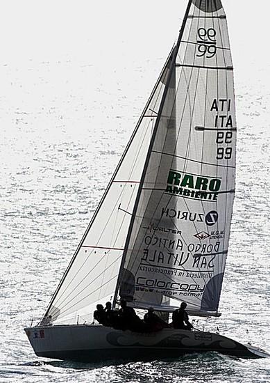 L'imbarcatione di Ali e vele al Gorla
